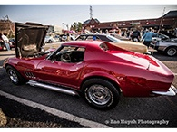 Cars & Coffee Event Highlihts 1969 Chevy Corvette