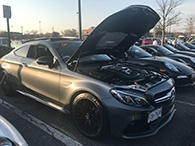 Cars & Coffee Event Highlihts 2018 Mercedes Benz C63s