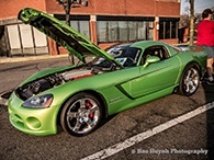 Cars & Coffee Event Highlihts Dodge Viper SRT