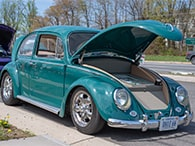 Cars & Coffee | 1966 VW Beetle