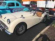 Cars & Coffee Event Highlihts 1958 Triumph Tr3- Best Euro