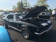 Cars & Coffee Event Highlihts 1967 Camero SS - Best Exterior Paint