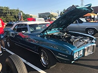 Cars & Coffee Event Highlihts 1969 Pontiac Firebird Best in Show 2