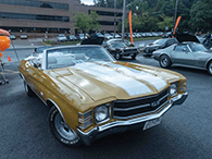 Cars & Coffee | 1971 Chevelle Convertible Best Exterior Paint
