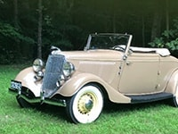 Virtual Car Show | Best Classic/Antique: 1934 Ford Cabriolet