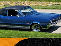 Virtual Car Show | Best American Muscle: 1967 Oldsmobile Cutlass Supreme / 442