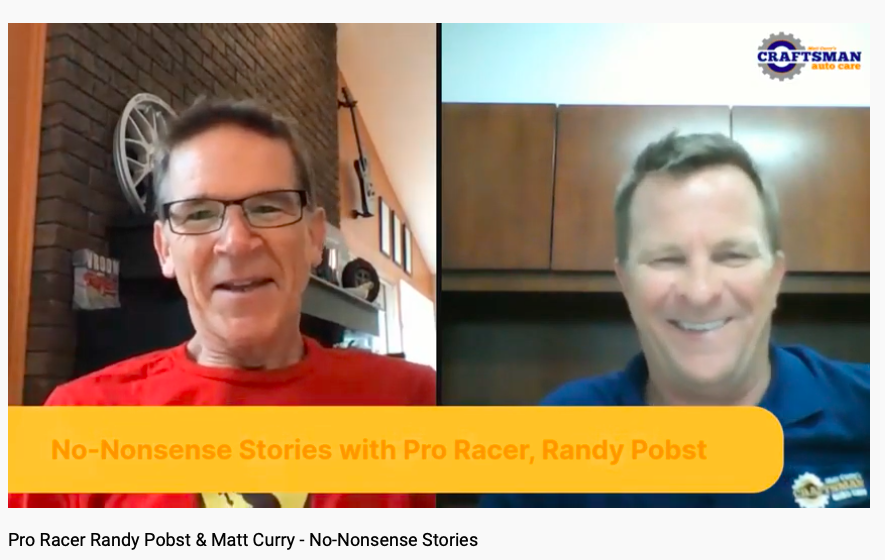 Interview with Randy Pobst; Pro Racing Superpowers!