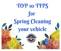 Spring Clean your Vehicle